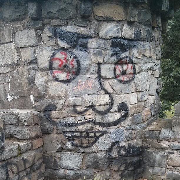 castle face
